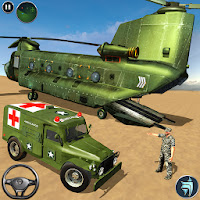 US Army Ambulance Driving Game for Android