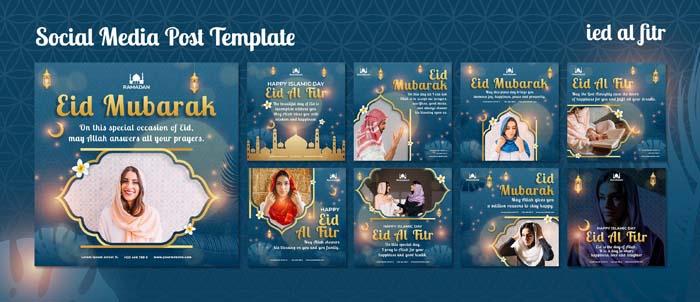 Eid Al Fitr Social Media Posts