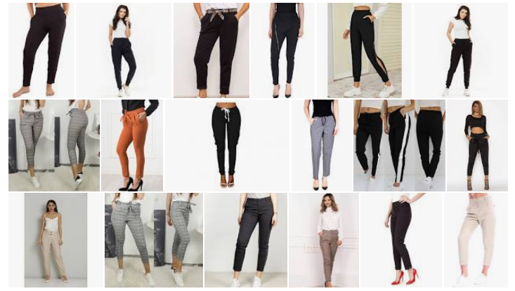 Pantaloni dama casual / de trening ieftini modele noi iarna 2020