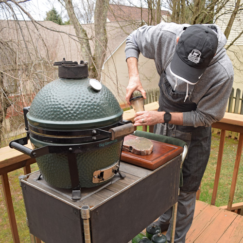 Porterhouse steak and the BGE Mighty Max