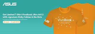 ASUS VivoBook Ultra A412 Bersama Rizky Febian dan Ria Ricis