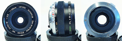 Zuiko OM 28mm Lenses Click on image for higher resolution view Zuiko MC Auto-W 28mm 1:2.8 #208 Fully functional, excellent overall condition, very clean and tidy barrel, bright and clear lettering, visually clean and clear glass with only minimal spots of dust when seen under LED light, smooth focusing, snappy aperture stops, Olympus front and rear caps. Self Pick-up - RM 380.00 PosLaju (+) - West Malaysia RM 10.00, Sarawak RM 12.00, Sabah RM 13.00