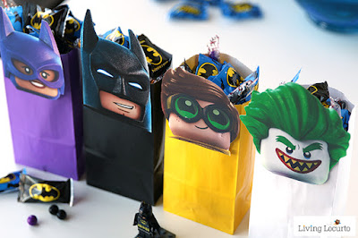 Lego batman treat bags,