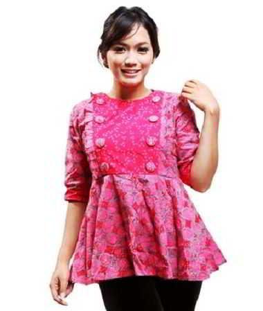 ッ 14 Contoh Model Baju Batik Untuk Ibu Hamil Modern Terbaru