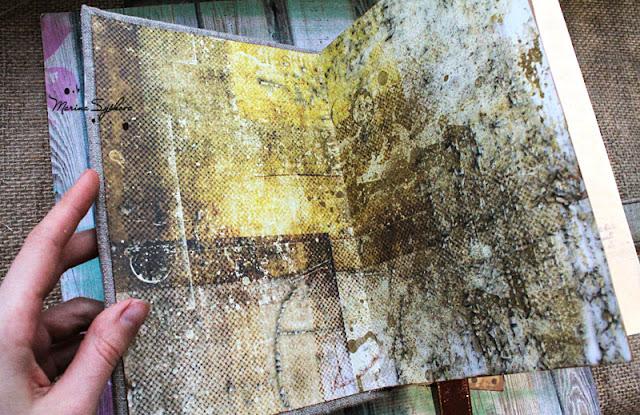 @marinasyskova #scrapbooking #notebook #formen #steampunk #handmade