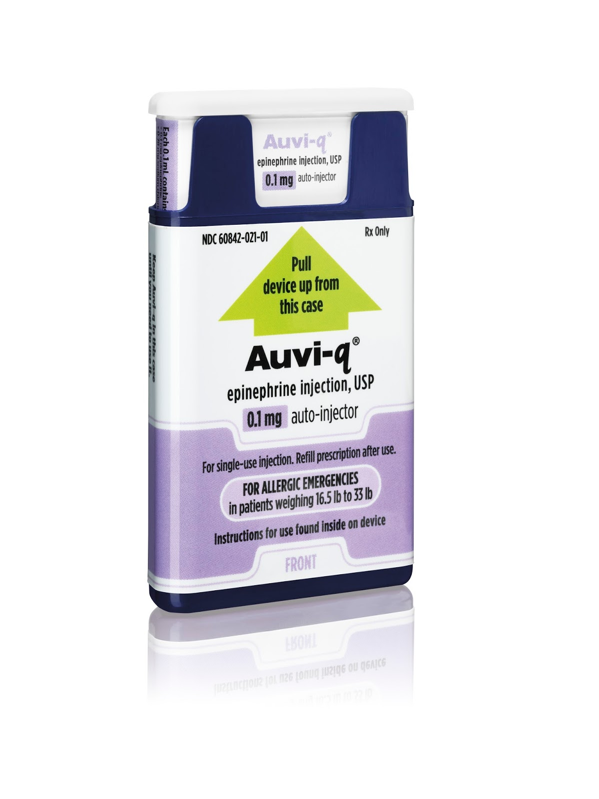 Update: U.S. FDA Approves Kaléo's AUVI-Q® (Epinephrine Injection, USP) 0.1  mg Auto- Injector for Life-Threatening Allergic Reactions in Infants and  Small ...