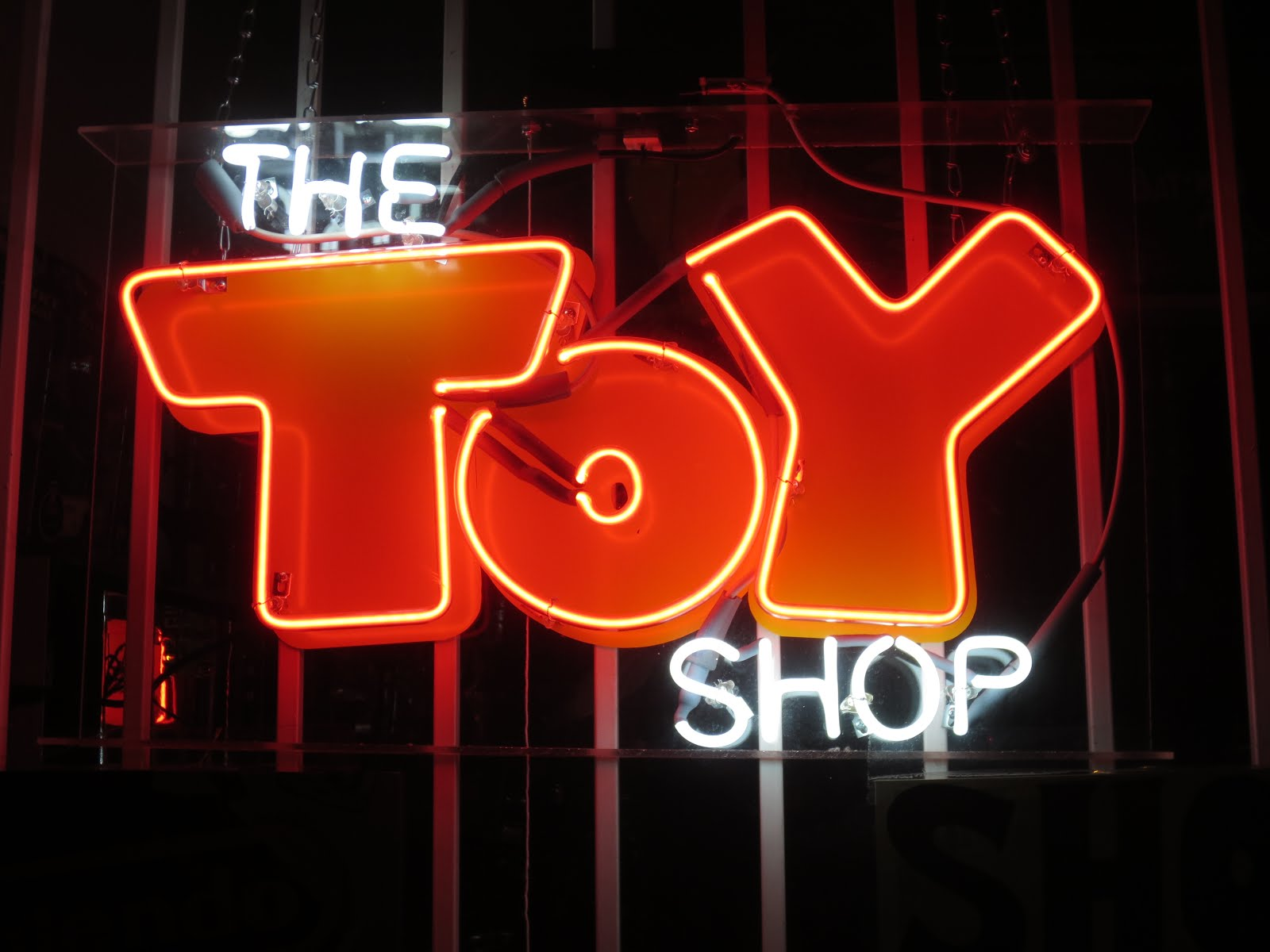 Our Oakland Signs The Toy Shop