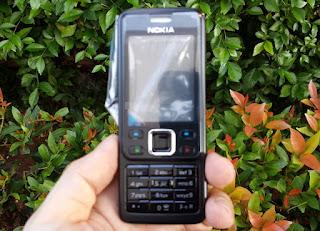 Casing Nokia 6300 Jadul Fullset Lengkap Langka