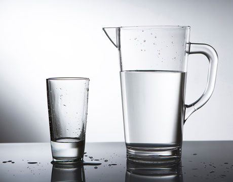 not glass half empty or half full but where is the pitcher