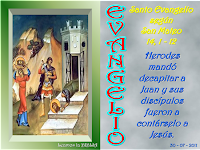 Resultado de imagen para En aquel tiempo, el rey Herodes oyó lo que contaban de Jesús