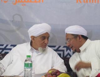 Habib Abu Bakar al-Adni dan Habib Zein Baharun