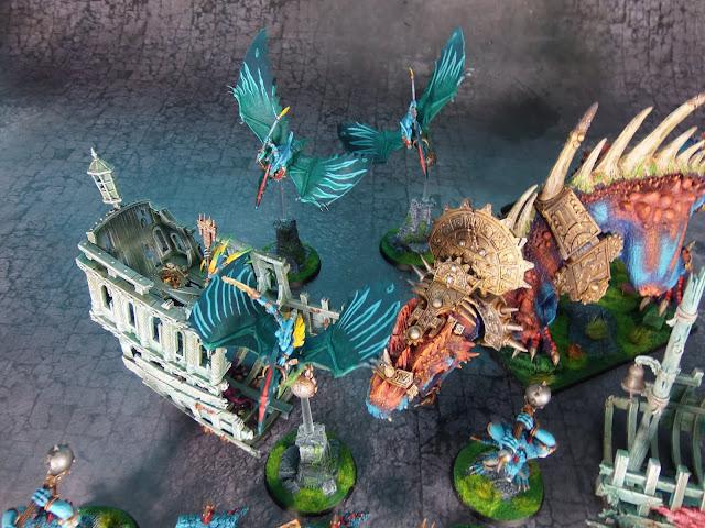 lizardmen terradon riders warhammer