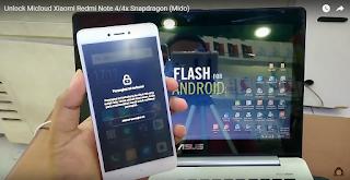 Unlock Micloud Xiaomi Redmi Note 4/4X Snapdragon (Mido) 1