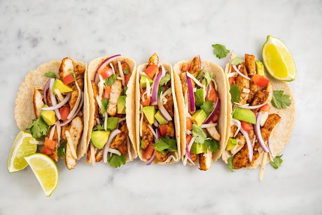 resep taco ayam khas mexico