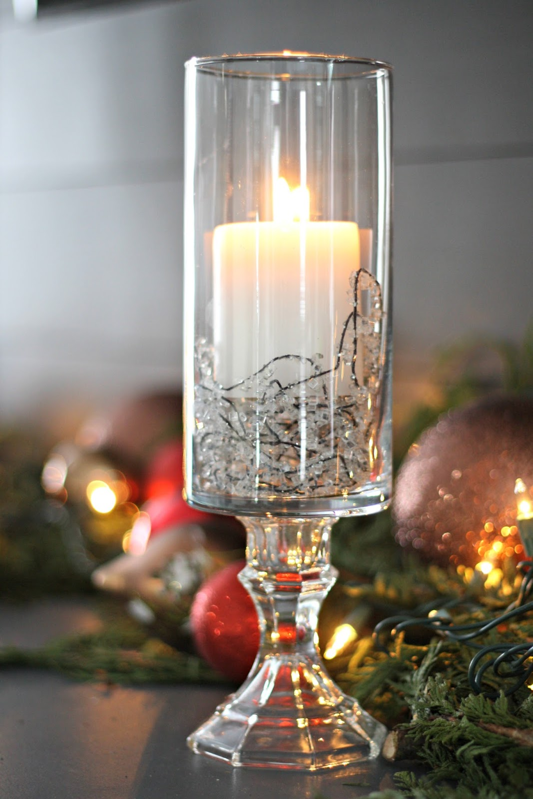 how to make your own pedestal candles