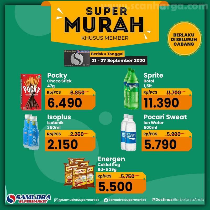 Katalog Samudra Supermarket Promo Super Murah 21 - 27 September 2020