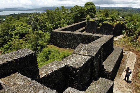 Benteng yang menjadi pertahanan Buton selama Perang Buton Belanda