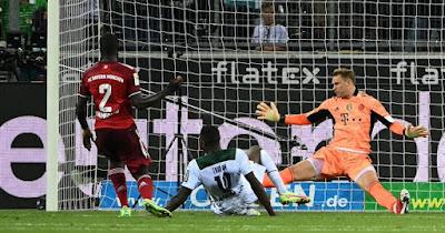 ملخص واهداف مباراة بايرن ميونخ وبوروسيا مونشنجلادباخ (1-1) الدوري الالماني