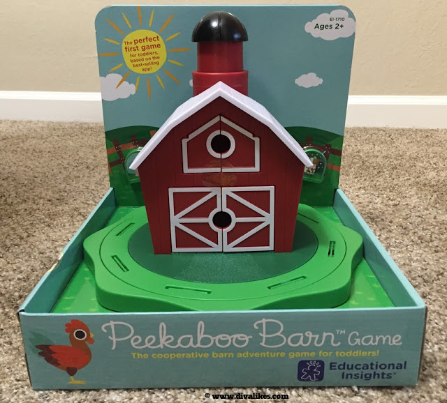 Educational Insights Peekaboo Barn Game