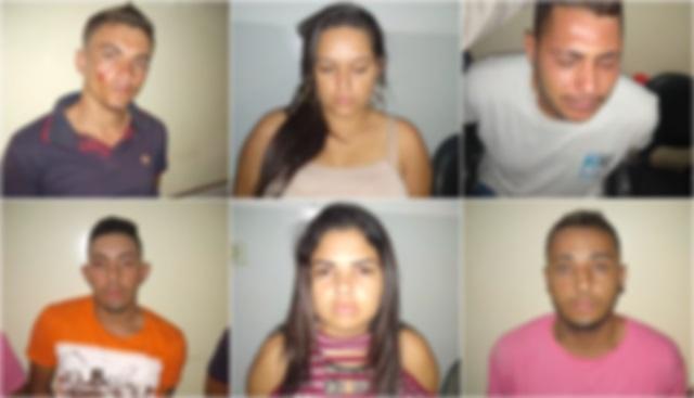 Suspeitos de adulteração e posse de veículo com restrição de roubo, tráfico de drogas são presos pela PM