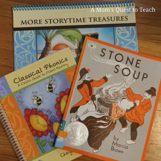 Classical phonics, StoryTime, Stone Soup book