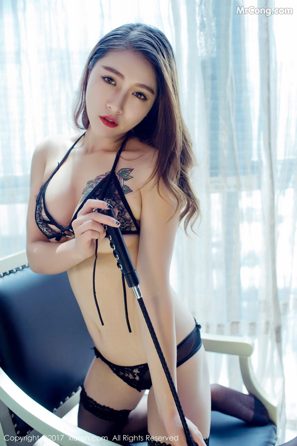 Image XIUREN-No.812-Du-Hua-Hua-MrCong.com-016 in post XIUREN No.812: Người mẫu Du Hua Hua (杜花花) (48 ảnh)