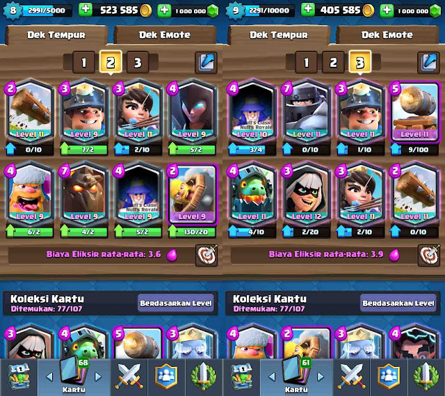 cara cheat clash royale tanpa root