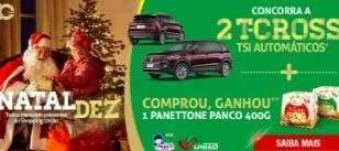 Promoção Natal 2019 União de Osasco Ganhe Panetone e Concorra 2 Carros 0KM
