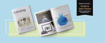 contoh desain cetak katalog jahit kawat