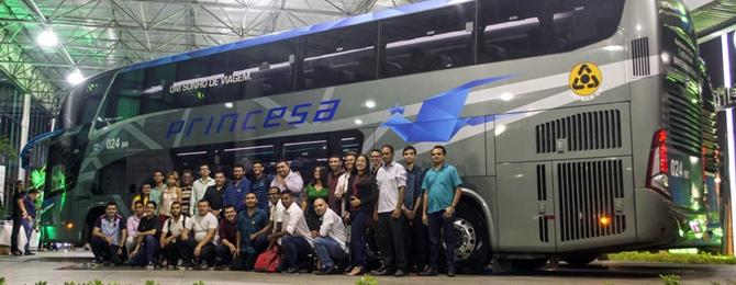 Ceará Diesel enfatiza DD's da Marcopolo e Busscar em Happy Hour