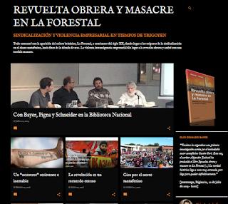 http://revueltaobreraymasacreenlaforestal.blogspot.com.ar/