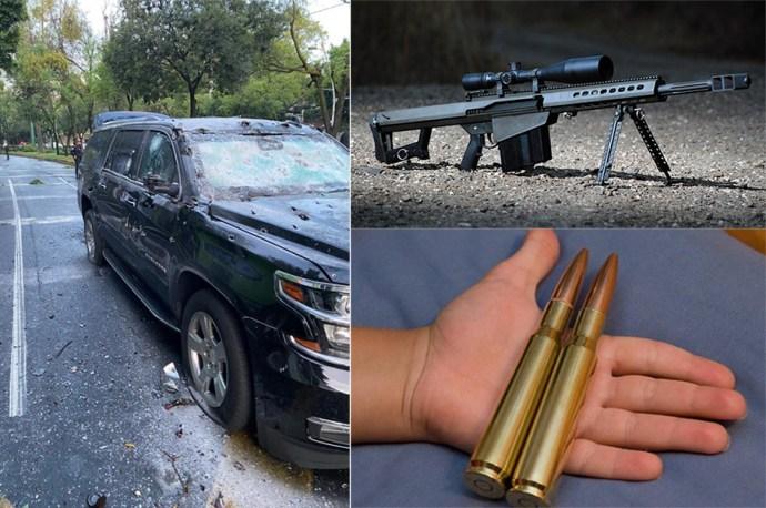 Fusil Barrett: El Fusil de alto poder preferido y favorito del Narco en México, así es el arma que no saben manejar pero que siempre llevan con ellos