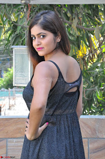 Pragya Nayan New Fresh Telugu Actress Stunning Transparent Black Deep neck Dress ~  Exclusive Galleries 017.jpg