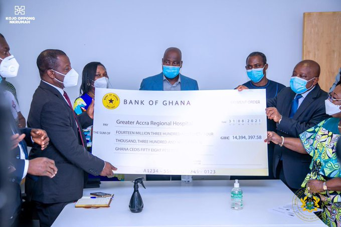 President Akufo-Addo fulfils pledge to conjoined twins, pays GH¢14.3m for surgery