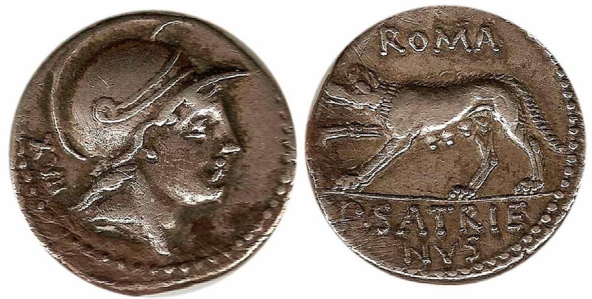Monedas romanas y adquisicion de derechos