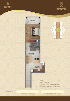 ROF Ananda Sector 95 Gurgaon Floor Plan