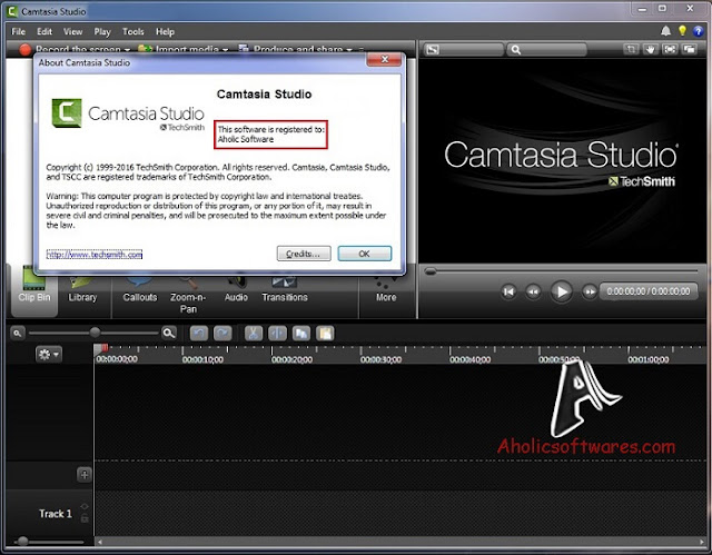 Camtasia Studio is a screen video capture software designed to record on-screen activity from any application.