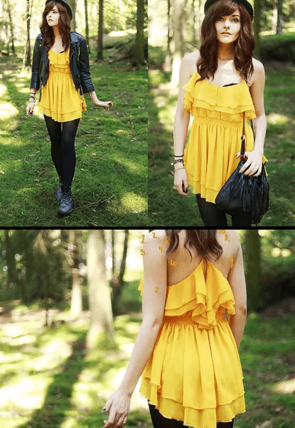 How to coordinate with yellow colors
