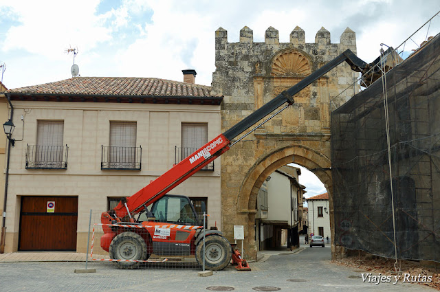 Puerta de Aguilera, Berlanga de Duero