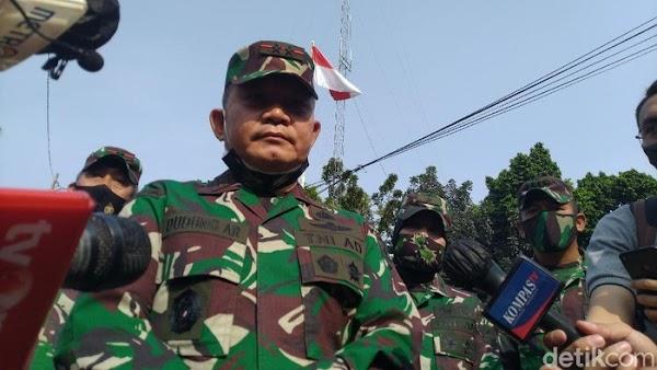 Mayjen Dudung Hardik FPI, Baliho HRS Dipreteli