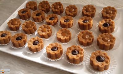 حلوى بدون فرن ب 3 مكونات فقط  بدون شكلاطة سريعة في 5 دقائق