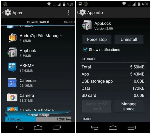 How to hack AppLocker security App in Any Android Phone ?   BheruTech