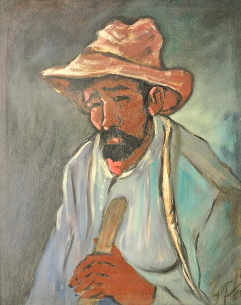 Retrato sin tituo, Yoryi Morel, 1965