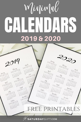 print a calendar 2020
