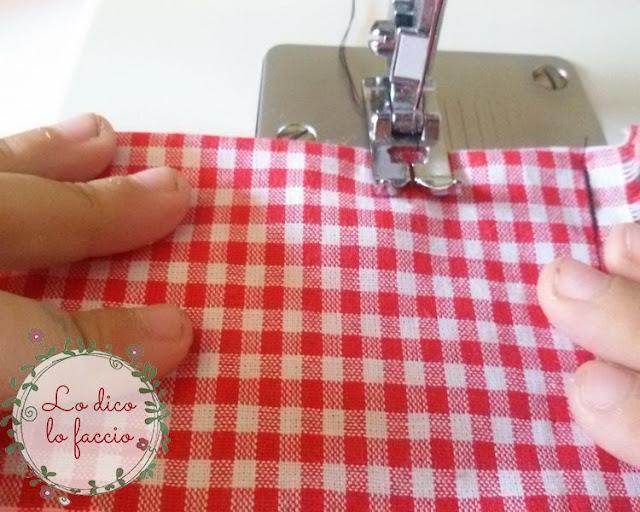 mani bambina cucire