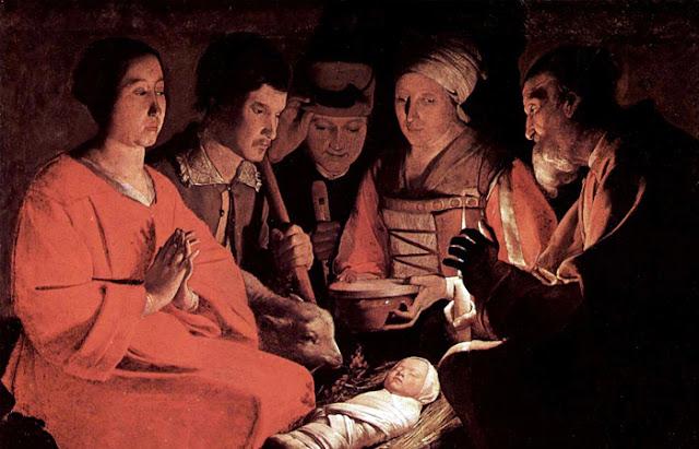 """Georges de Latour """"Adoração dos Pastores"""""""