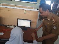 Kadisdik Pantau UNBK di SMPN 13 dan SMPN 30 Kota Makassar