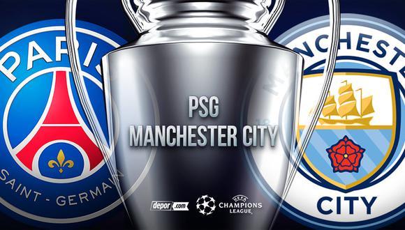 PSG vs.City EN VIVO: canales y transmisión por semifinales de Champions League