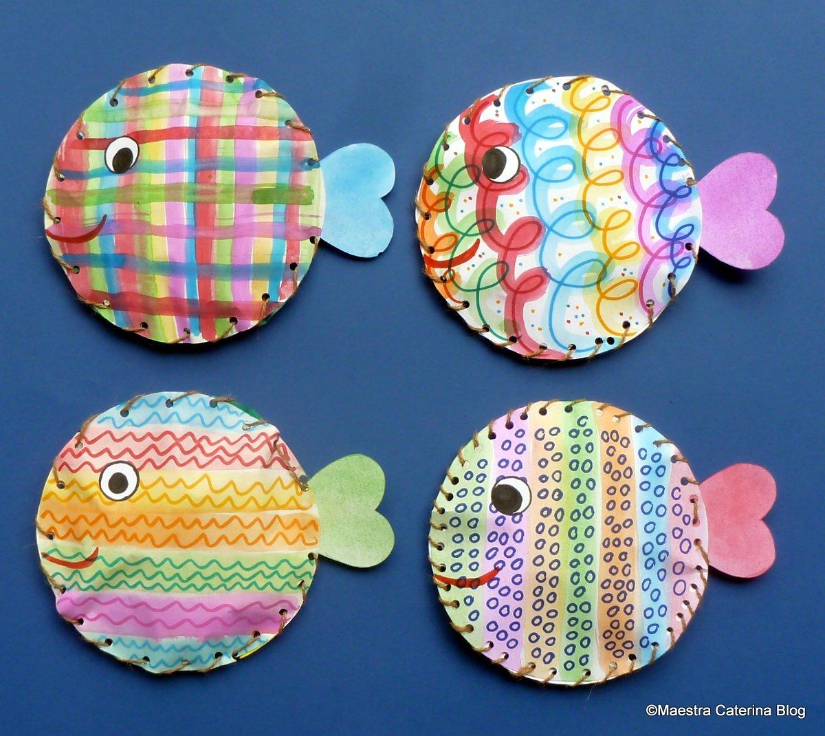 Maestra caterina storia di un pesciolino una storia for Lavoretti estate scuola dell infanzia
