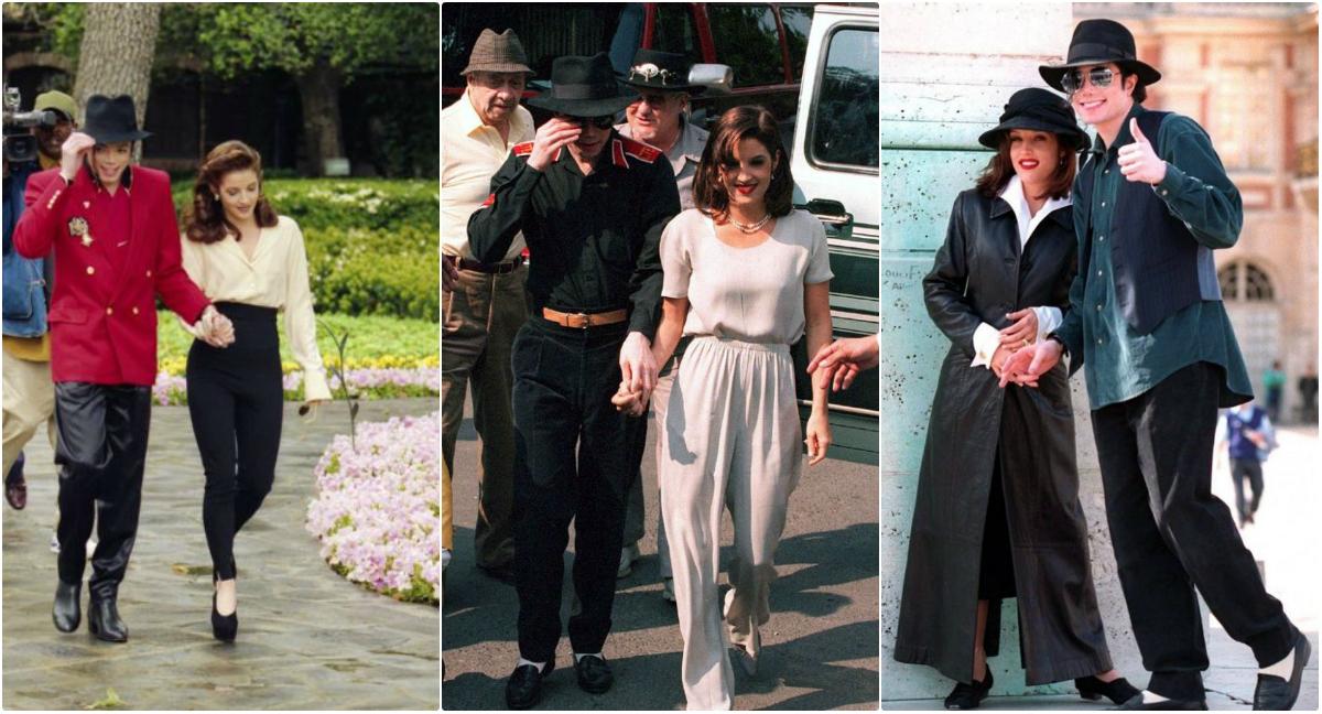 30 Beautiful Pics Of Michael Jackson And Lisa Marie Presley